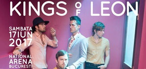 World Class te trimite la concertul Kings Of Leon!